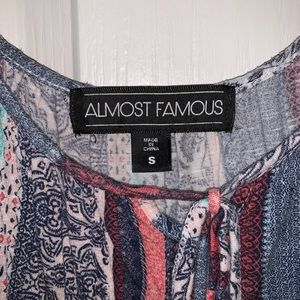 Almost Famous Tops - Off-the-Shoulder Tank